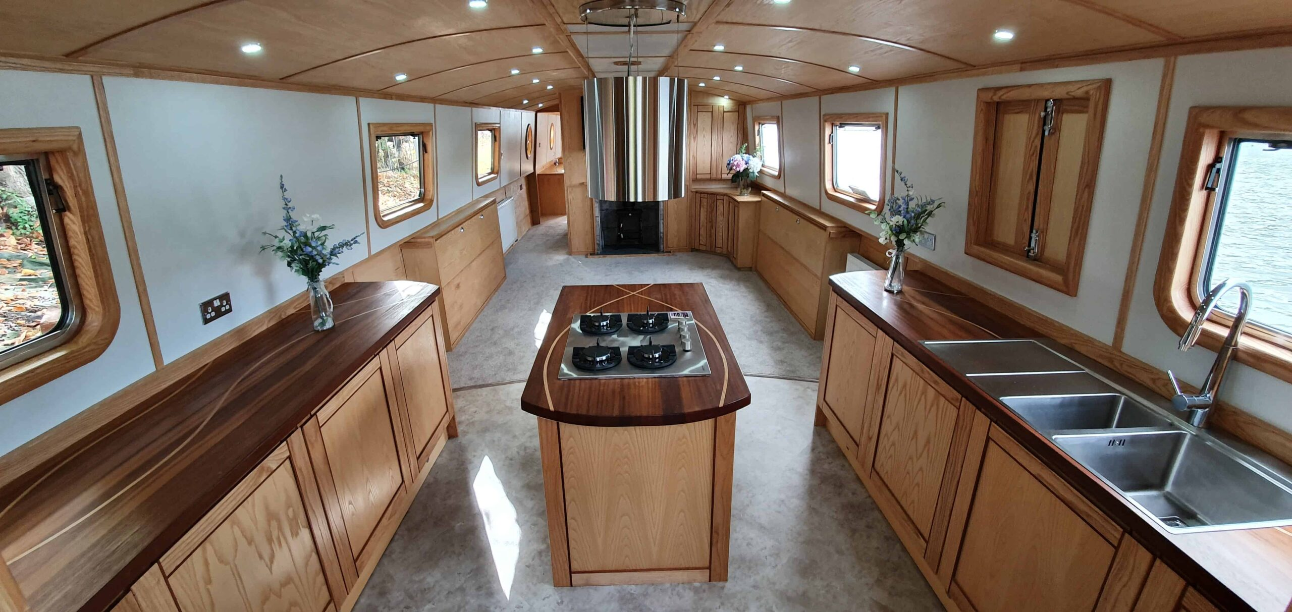 One of Style's completed boat restorations